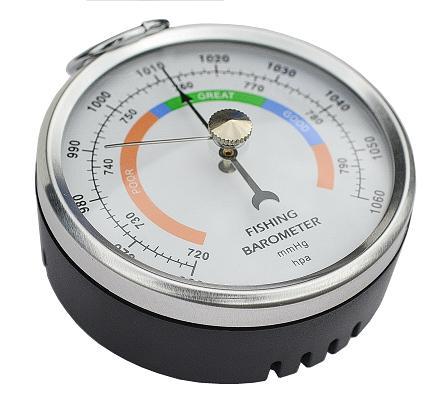 купить карманный барометр для рыбака